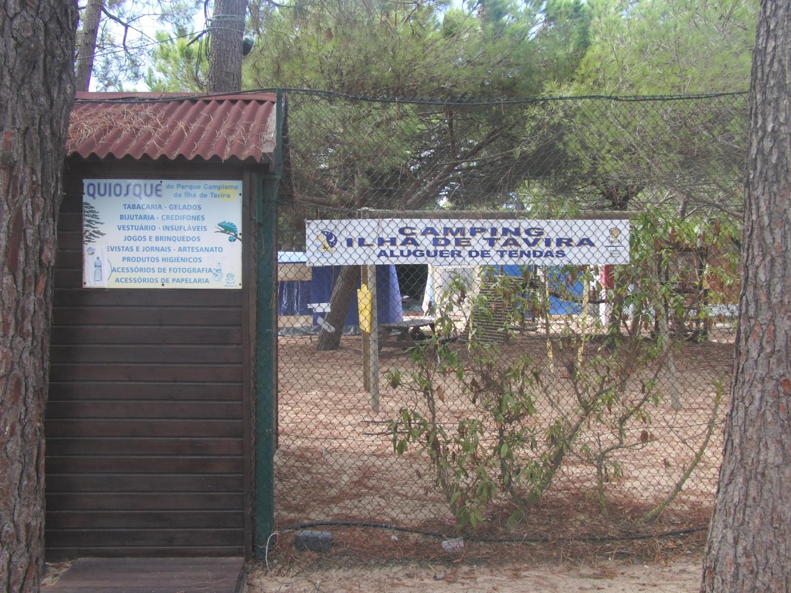 Tavira Island Camping