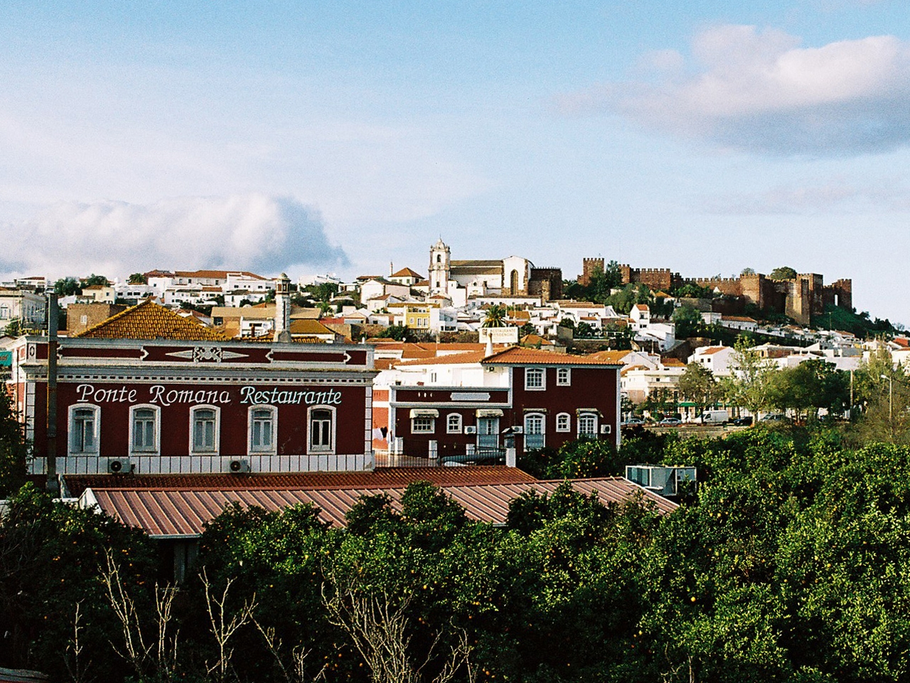 Silves: Castle view